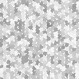 Retro struttura di semitono in bianco e nero di Dots Mess Concept Background Pattern del quadrato royalty illustrazione gratis