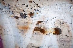 Retro struttura o fondo arrugginita del metallo di lerciume Immagini Stock Libere da Diritti
