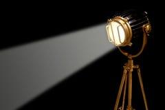 Retro studio light Stock Images