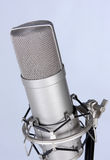 Retro studio microphone Royalty Free Stock Photography