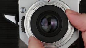 Retro- Studiophotographie stock footage