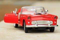 Retro stuk speelgoed auto Stock Afbeeldingen