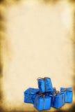 Retro stuk speelgoed giften Royalty-vrije Stock Afbeeldingen