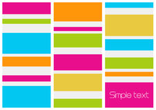 Retro style abstract image. Vector Royalty Free Stock Images