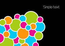 Retro style abstract image. Vector royalty free illustration