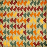 Retro style abstract  pattern Stock Image