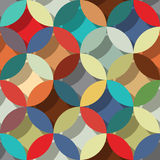 Retro style abstract pattern Royalty Free Stock Image