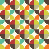 Retro style abstract seamless pattern Stock Photos