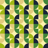 Retro style abstract seamless pattern Stock Images