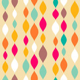 Retro style abstract seamless pattern Royalty Free Stock Photos