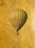 Retro style air balloon Royalty Free Stock Images