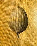 Retro style air balloon Stock Images