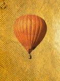 Retro style air balloon Stock Photos