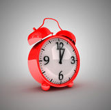 Retro style alarm clock Stock Images