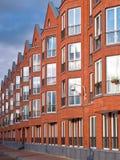 Retro style apartments Royalty Free Stock Photos