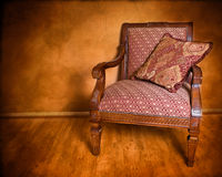 Retro Style Armchair Royalty Free Stock Photography