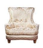 Retro style armchair isolated Stock Photos