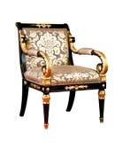 Retro style armchair isolated Stock Image