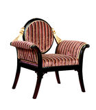 Retro style armchair isolated Royalty Free Stock Photo