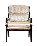 Retro style armchair isolated Royalty Free Stock Images