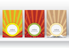 Retro Style Background for Template Royalty Free Stock Images