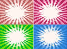 Retro Style  - background, vectors work Stock Photos