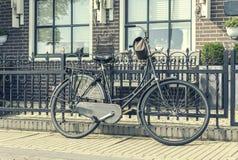Retro style bicycle Royalty Free Stock Photos