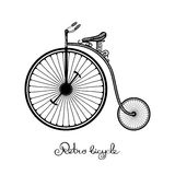 Retro Style Bicycle Stock Images