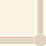 Retro style border frame background. Royalty Free Stock Images