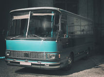 Retro style bus. Toned. Stock Photos