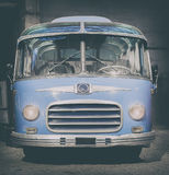Retro style bus. Toned. Royalty Free Stock Images
