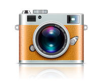 Retro style camera Stock Images