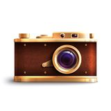 Retro Style Camera Royalty Free Stock Photo