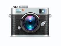 Retro style camera Stock Photos