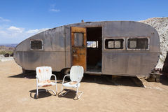 Retro Style Camper Royalty Free Stock Image