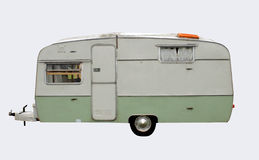 Retro style caravan Royalty Free Stock Photo