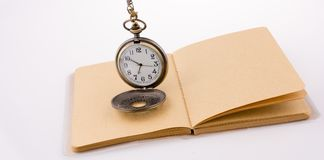Retro style classic pocket watch Stock Images