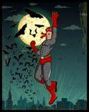 Retro style comics Superhero Royalty Free Stock Image