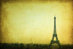 Retro style Eiffel Tower Royalty Free Stock Image
