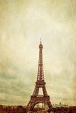 Retro style Eiffel Tower Royalty Free Stock Photo