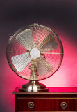 Retro style fan Royalty Free Stock Photography