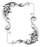 Retro style frame Royalty Free Stock Photo