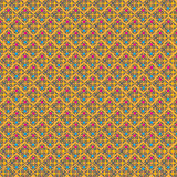 Retro style geometric seamless pattern Royalty Free Stock Photo