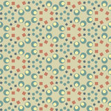 Retro style geometric seamless pattern. Background vector Royalty Free Stock Image
