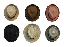 Retro-style hats Royalty Free Stock Images