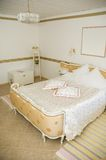 Retro-style Hotel Room Stock Image