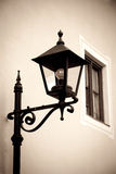 Retro style image of street lamp Stock Photography