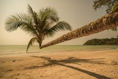 Retro style image of tropical island beach Stock Photo