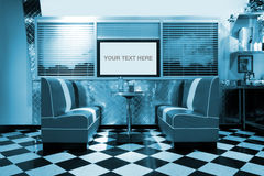 Retro style interior Royalty Free Stock Photo