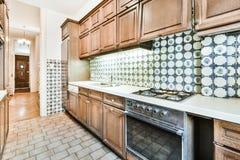 Free Retro Style Kitchen Interior Design Stock Photos - 219138843